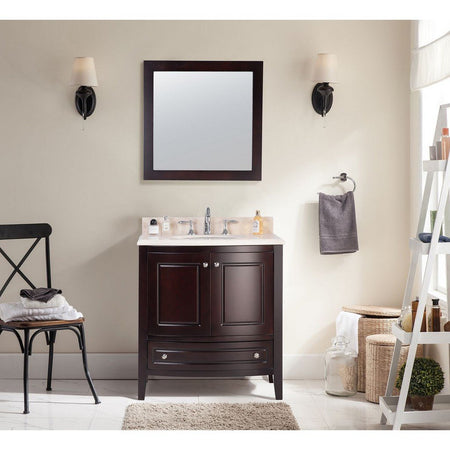 "Laviva Estella 32"" Cabinet with Jerusalem Gold Counter Laviva Vanities"