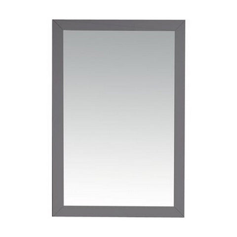"Laviva Fully Framed 24"" Mirror Laviva Mirrors Espresso"