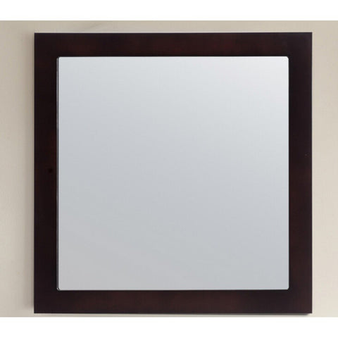 "Laviva Fully Framed 30"" Mirror Laviva Mirrors Espresso"