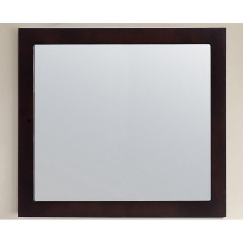 "Laviva Fully Framed 36"" Mirror Laviva Mirrors Espresso"