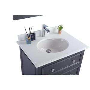 "Laviva Luna 30"" Cabinet with Pure White Counter Laviva Vanities"