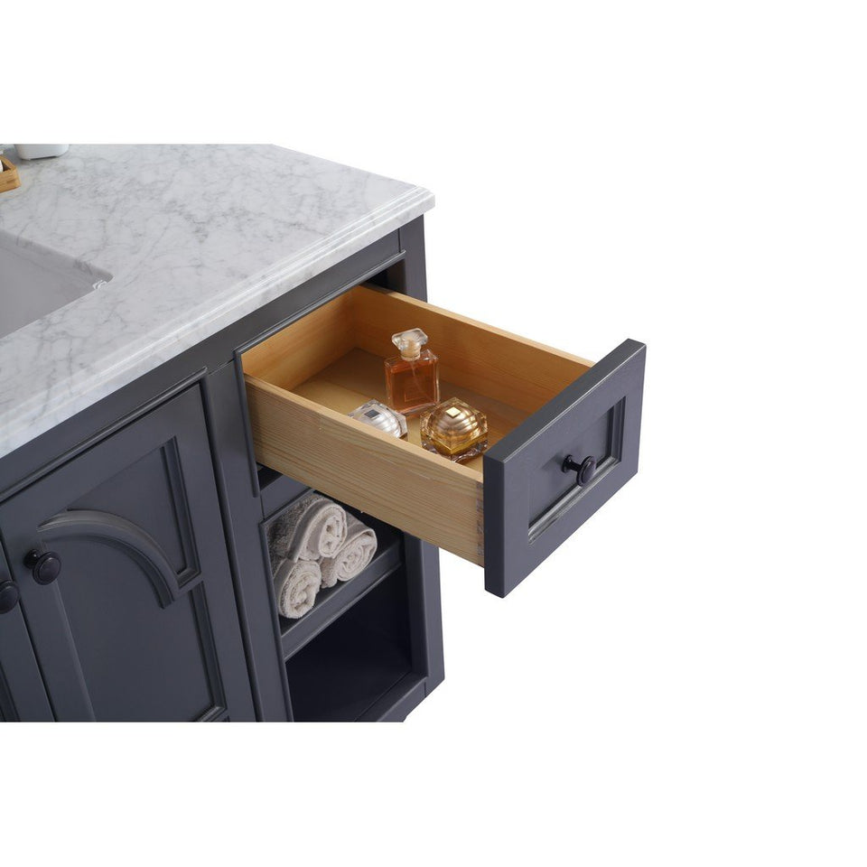 "Laviva Odyssey 36"" Cabinet with Black Wood Counter Laviva Vanities"