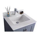 "Laviva Wilson 24"" Cabinet with White Quartz Countertop Laviva Vanities"
