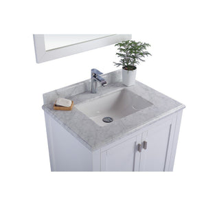 "Laviva Wilson 30"" Cabinet with White Carrara Countertop Laviva Vanities"