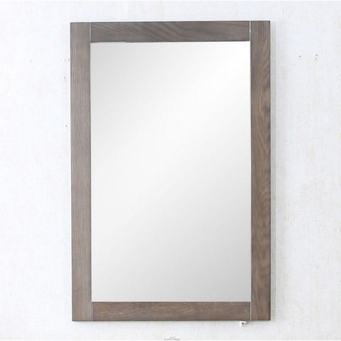 "Legion Furniture 20""x30"" Bathroom Mirror in Weathered Gray Legion Furniture Mirrors Weathered Gray"