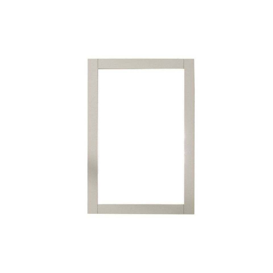 "Legion Furniture 20""x30"" Bathroom Mirror Legion Furniture Mirrors White Gray"