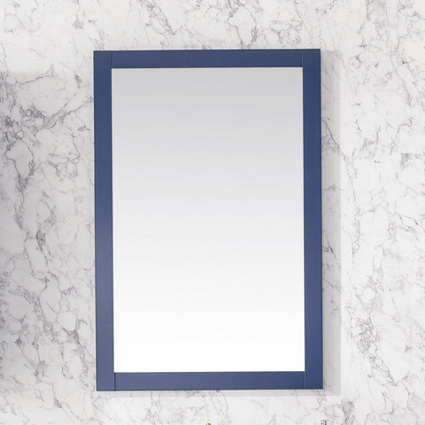 "Legion Furniture 24""x36"" Bathroom Mirror Legion Furniture Mirrors Blue"