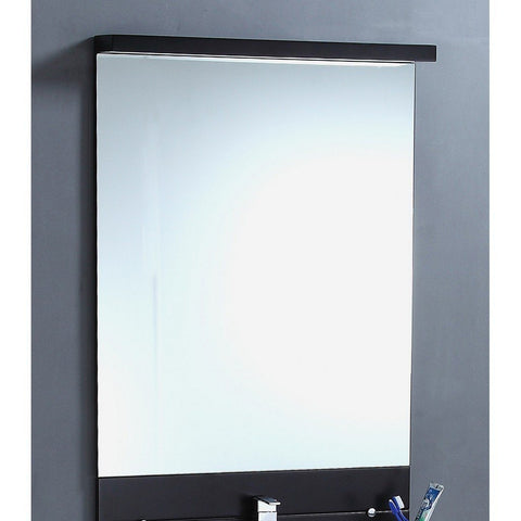 "Legion Furniture 30""x45"" Bathroom Mirror in Espresso Legion Furniture Mirrors Espresso"