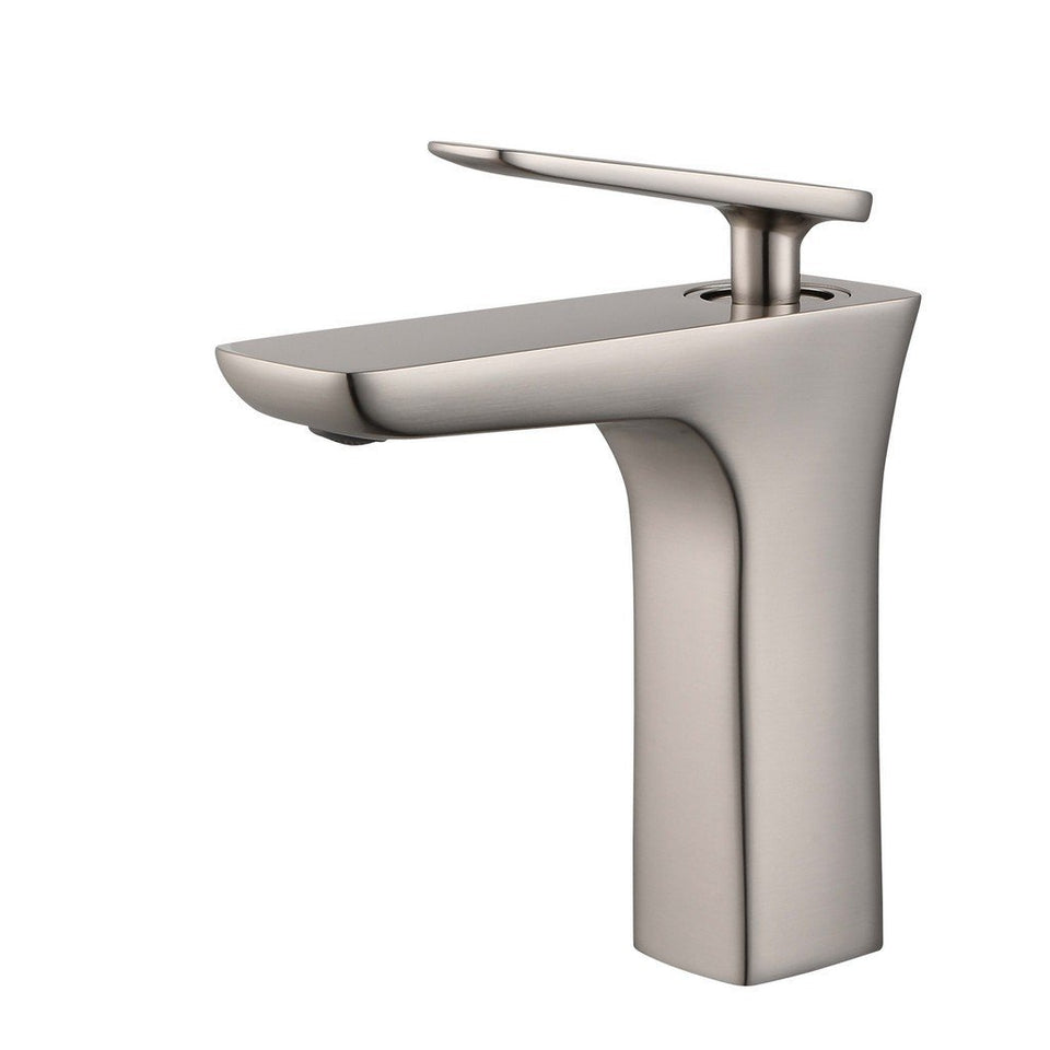 Legion Furniture Single Hole UPC Faucet with Drain ZY1013-C/BB/BN/GB/OR Legion Furniture Faucets Brushed Nickel