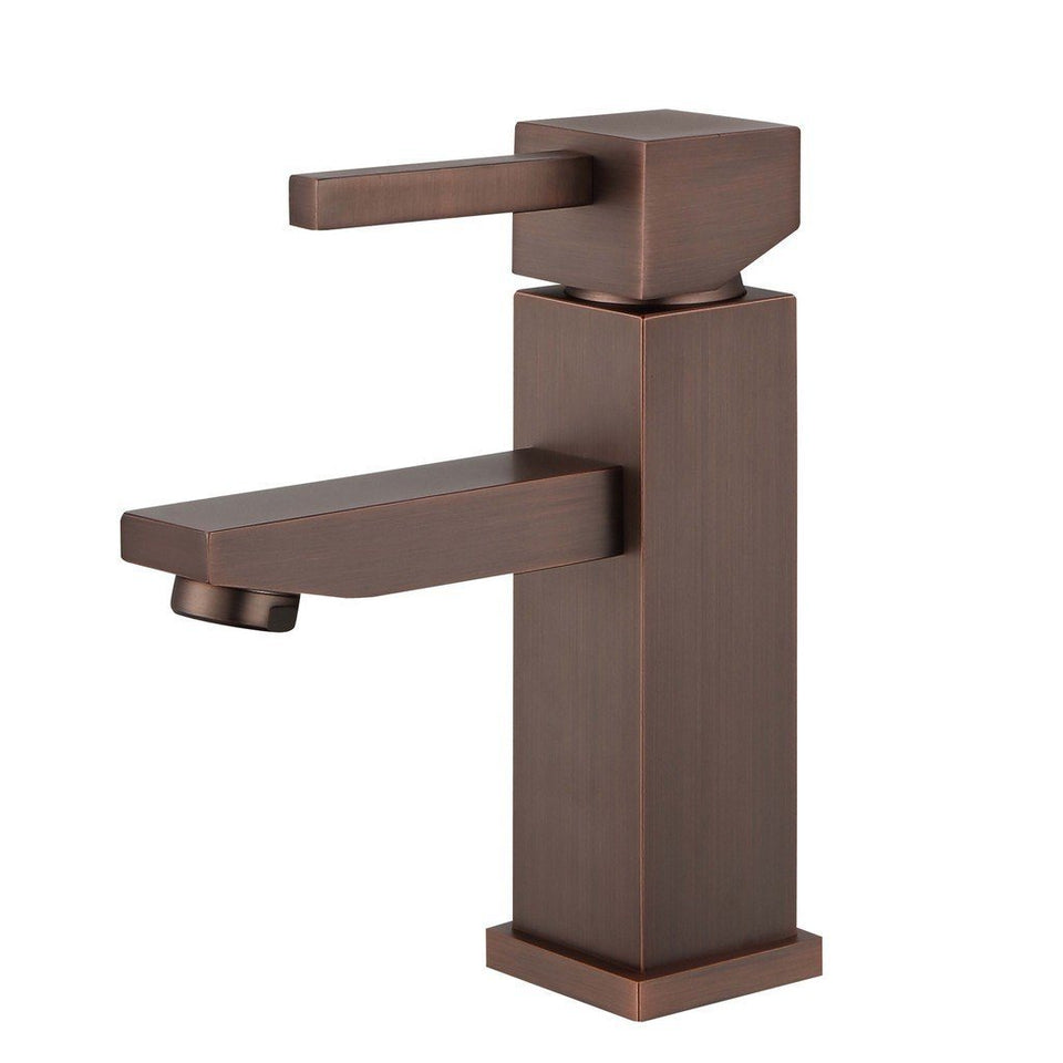 Legion Furniture Single Hole UPC Faucet with Drain ZY6003-C/BB/BN/GB/OR Legion Furniture Faucets Brown Bronze