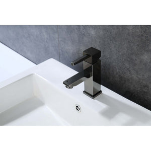 Legion Furniture Single Hole UPC Faucet with Drain ZY6003-C/BB/BN/GB/OR Legion Furniture Faucets Glossy Black