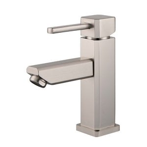 Legion Furniture Single Hole UPC Faucet with Drain ZY6301-C/G/BB/BN/GB/OR Legion Furniture Faucets Brushed Nickel