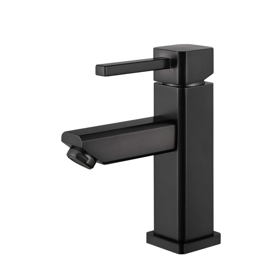 Legion Furniture Single Hole UPC Faucet with Drain ZY6301-C/G/BB/BN/GB/OR Legion Furniture Faucets Oil Rubber Black