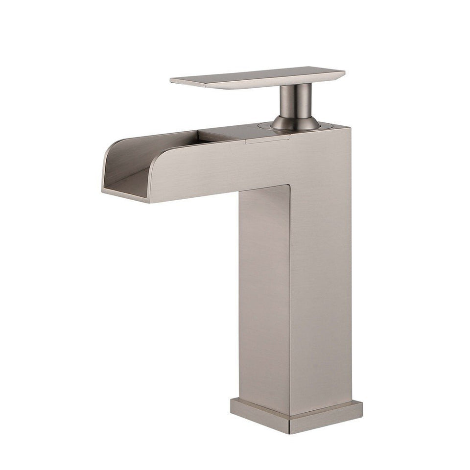 Legion Furniture Single Hole UPC Faucet with Drain ZY8001-C/BB/BN/GB/OR Legion Furniture Faucets Brushed Nickel