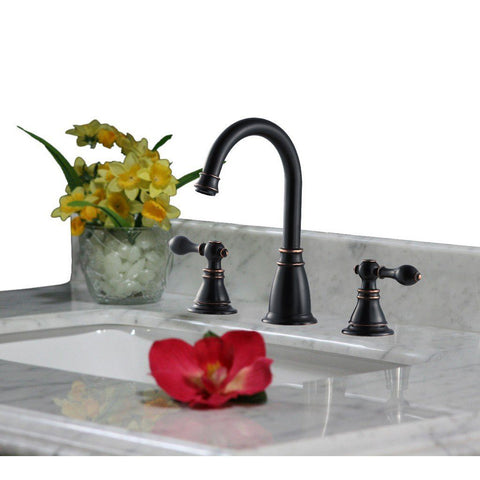 Legion Furniture Widespread Bathroom Faucet with Drain WN225 Legion Furniture Faucets Oil Rubbed Bronze