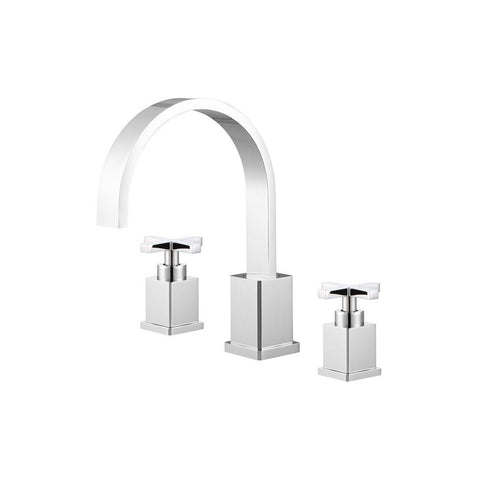 Legion Furniture Widespread Bathroom Faucet with Drain ZY2511-C/BB/BN/GB/OR Legion Furniture Faucets Chrome
