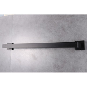 "Lexora Bagno Lucido Stainless Steel 24"" Towel Bar Lexora Towel Bars"