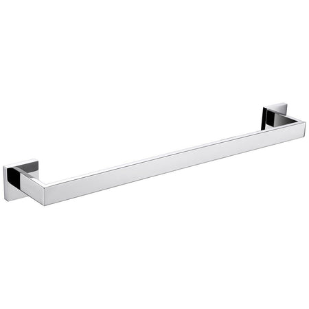 "Lexora Bagno Lucido Stainless Steel 24"" Towel Bar Lexora Towel Bars Chrome"