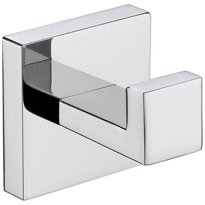 Lexora Bagno Lucido Stainless Steel Robe Hook Lexora Robe Hooks Chrome