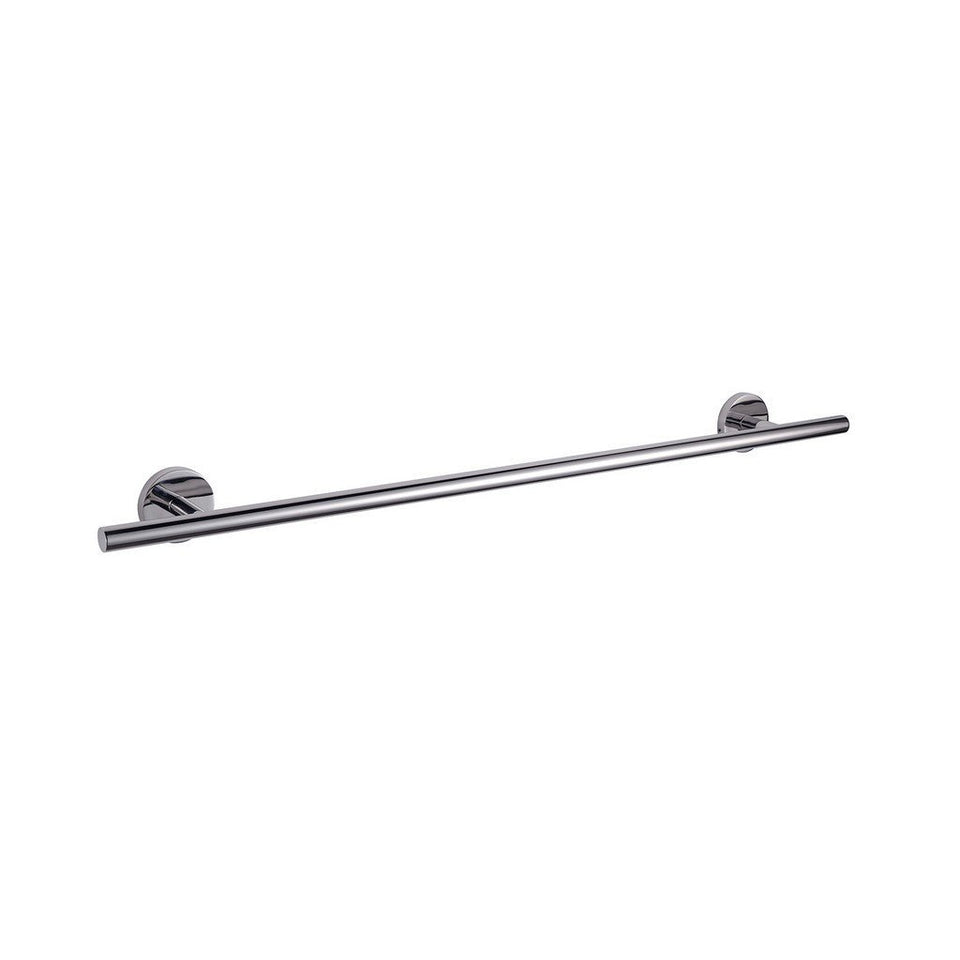 "Lexora Bagno Nera Stainless Steel 30"" Towel Bar Lexora Towel Bars Chrome"