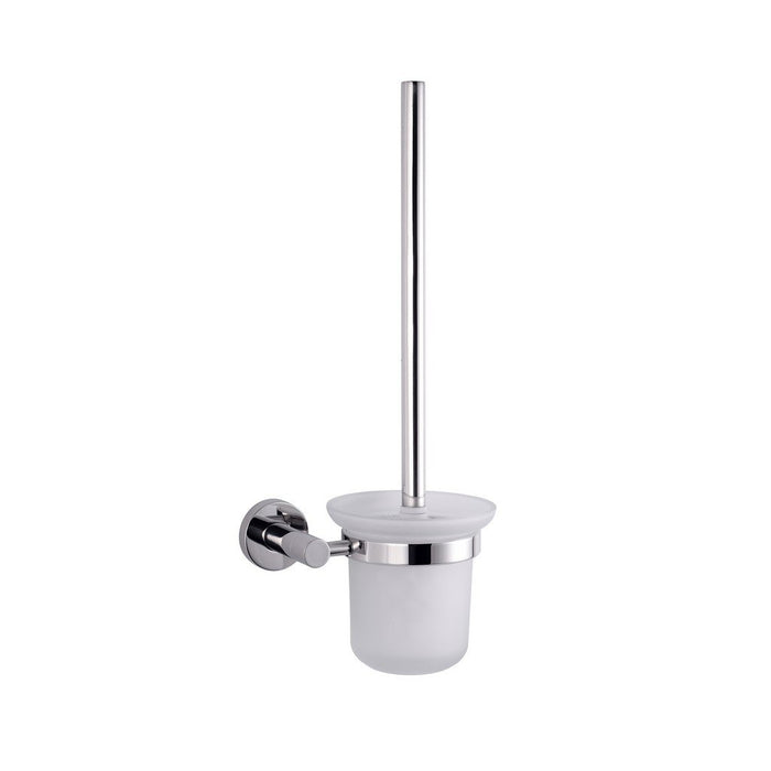 Lexora Bagno Nera Stainless Steel Toilet Brush Lexora Toilet Brushes Chrome