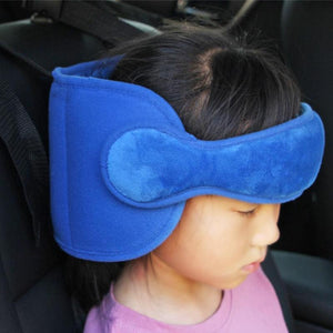 ADJUSTABLE CHILD CAR SEAT HEAD SUPPORT BAND