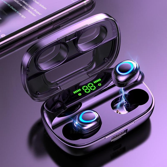 TOUCH CONTROL WIRELESS EARBUDS WITH POWER BOX