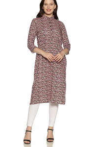 Kurti With Complicated Pattern