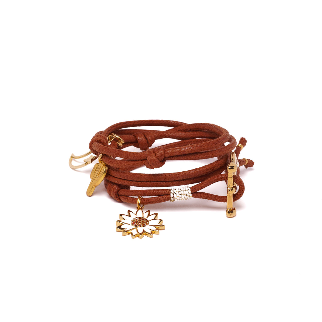 BOHOCHICK BROWN BRACELET