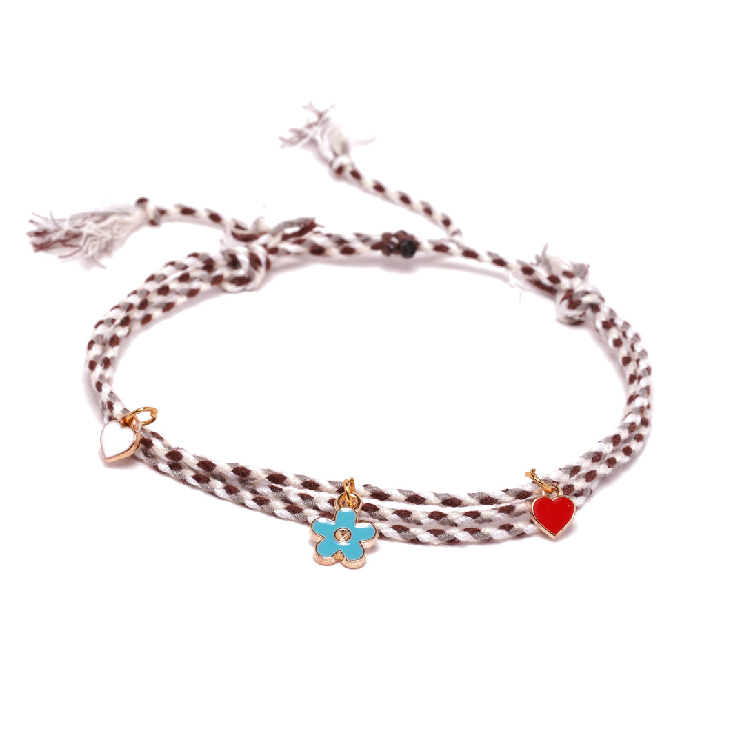 TINY FLOWER ANKLET