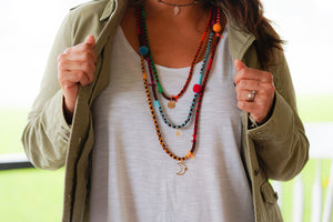 GUAVA BROWN NECKLACE
