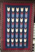 Load image into Gallery viewer, Quilt #02 - Chevron Paisley