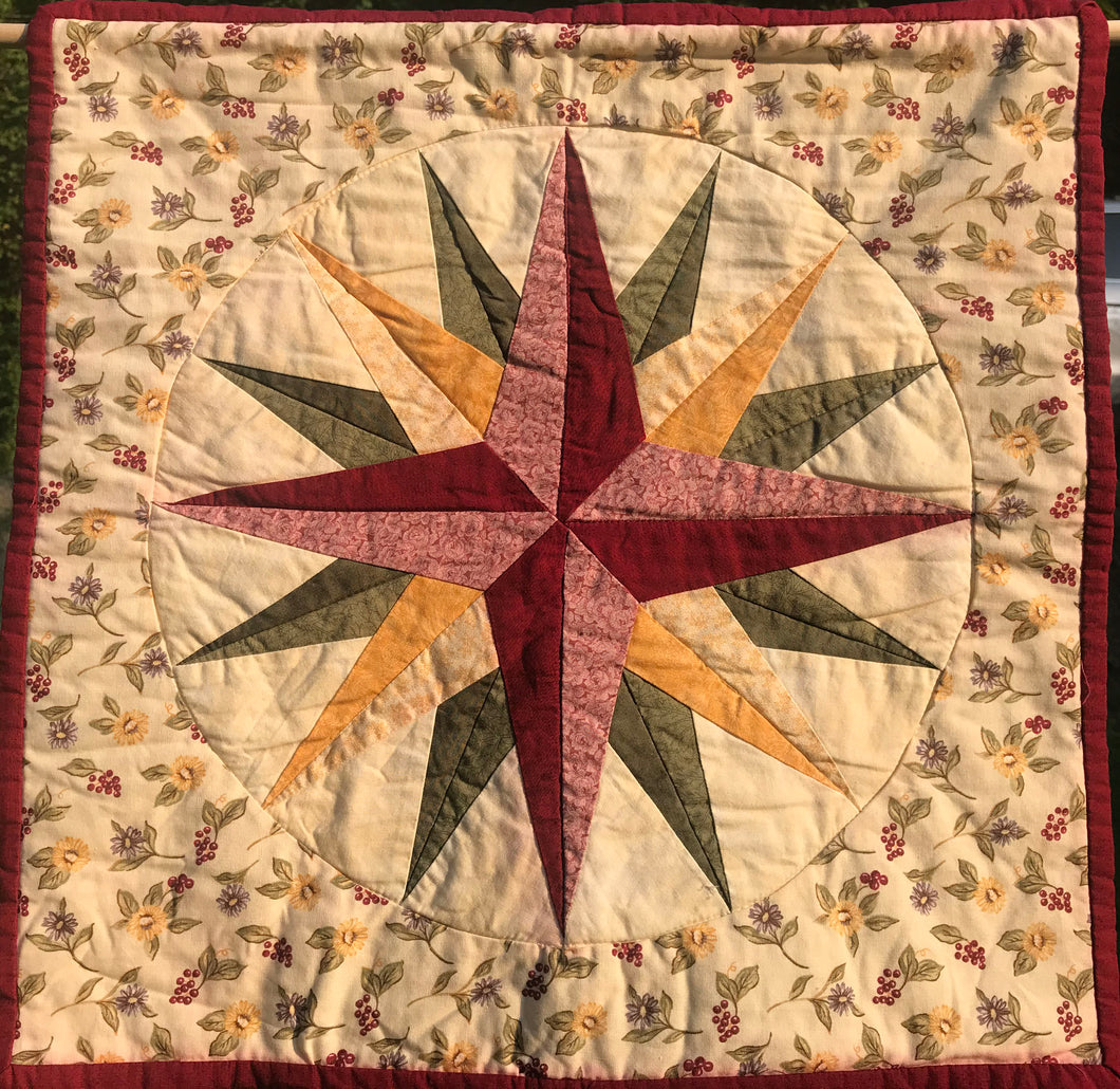 Quilt #04 - Mariner's Compass
