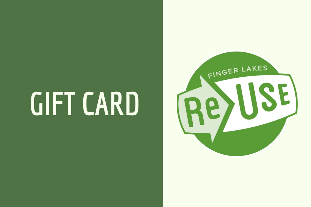 Gift Card (Exclusively at ReUse Community Hardware and ReUse Caboose)