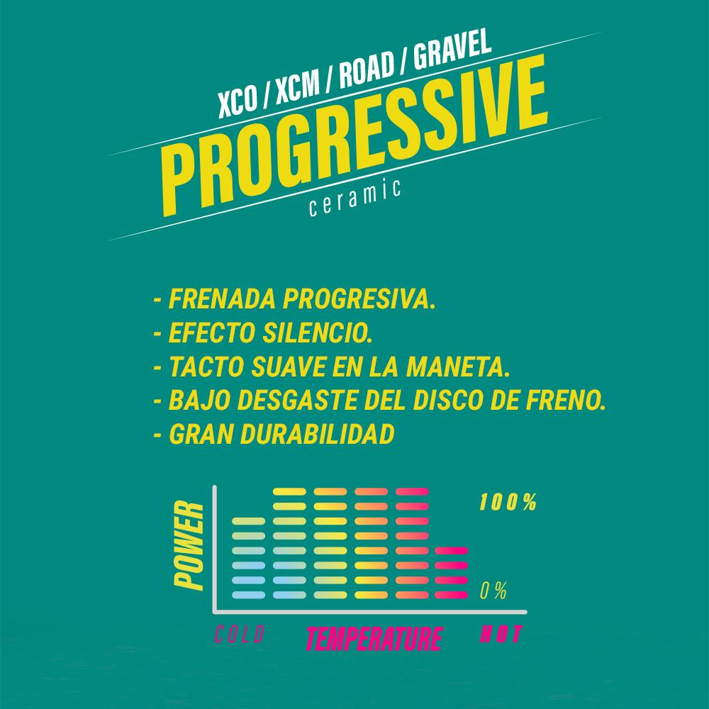 PASTILLAS LESS Freno HOPE X2 / 902 PROGRESSIVE