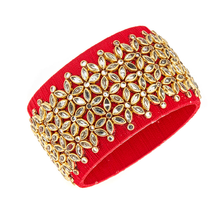 Red Embellished Cuff