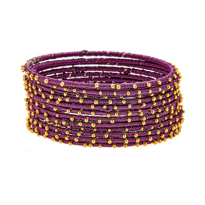 Cala Bracelets in Purple