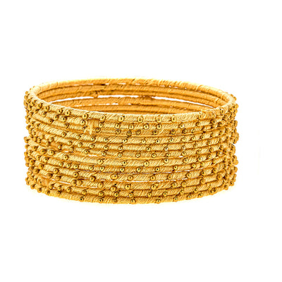 Cala Bracelets in Yellow