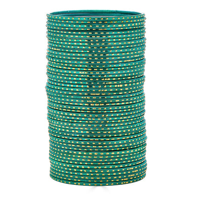 Iha Bangle Set in Green
