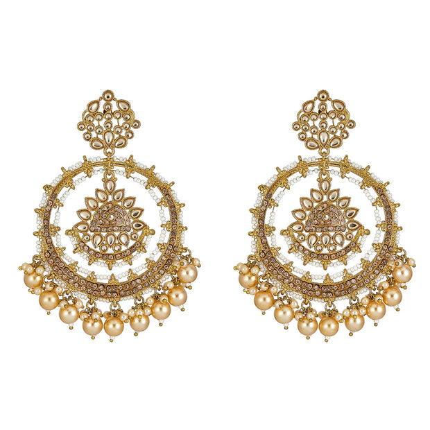 Kyna Earrings in Champagne