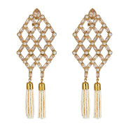 Pavi Drop Earrings