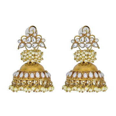 Qiyara Earrings in Gold