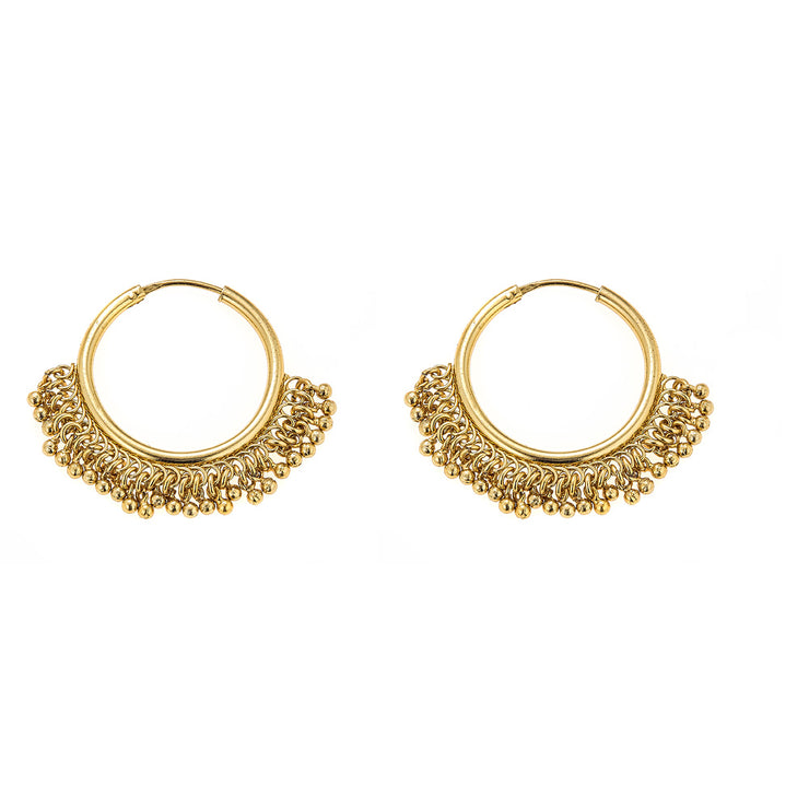 Sara Earrings in Gold