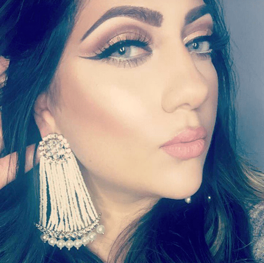 Jai Earrings in Pearl