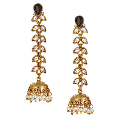 Dita Earrings in Onyx