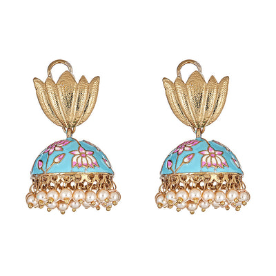Sabir Earrings in Turquoise