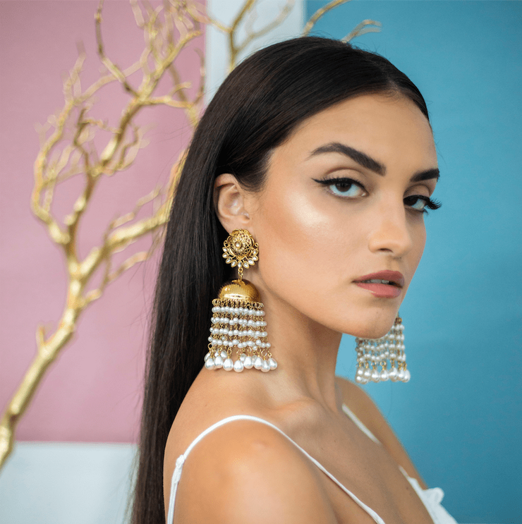 Sadaf Pearl Drop Earrings