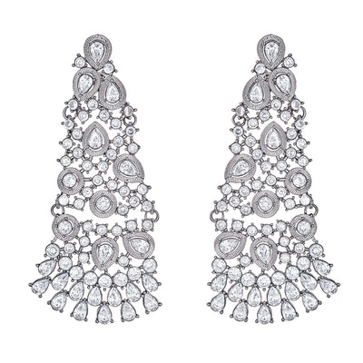 Hamidi Diamond Drop Earrings