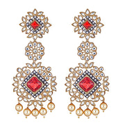 Aviva Ruby Drop Earrings
