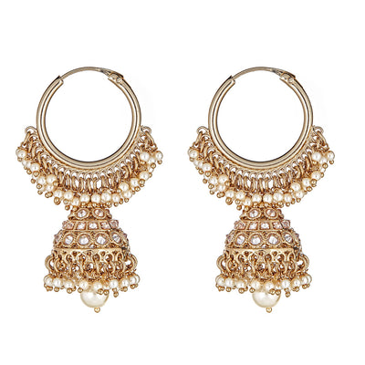 Anusha Pearl Drop Earrings